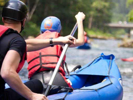 Séances Rafting